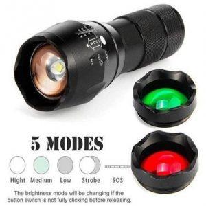 Linterna de colores para exterior