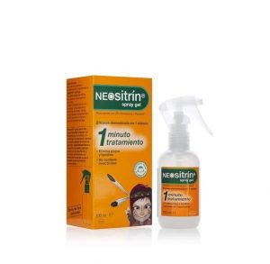Spray gel para eliminar piojos de Neositrín
