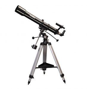 Telescopio plateado Evostar de Sky-Watcher